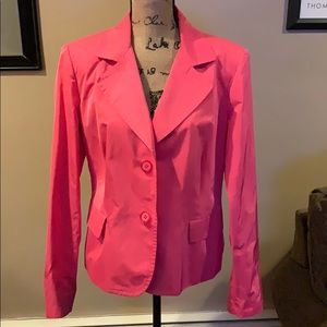 Carlisle Sz 16 Hot Pink (2) Button Blazer